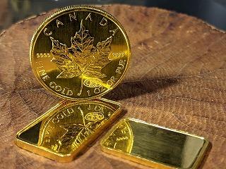 金貨とインゴット