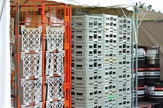 流通倉庫の容器
