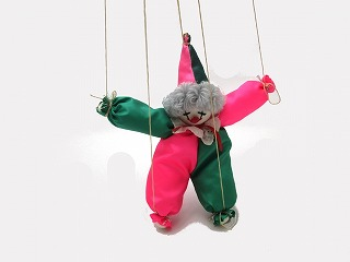 ピエロの操り人形
