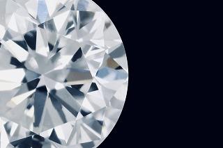 ダイヤモンドのアップ