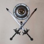 二本の剣と盾
